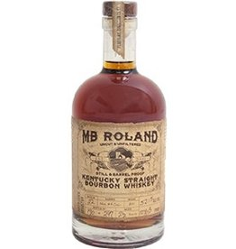 MB Roland Kentucky Straight Bourbon Whiskey Aged 2 Years Uncut & Unfiltered Still & Barrel Proof 55.3% abv 750ml