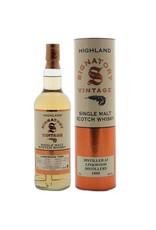 Scotch Signatory Vintage Linkwood 1997 19 Year Single Malt Scotch Whisky Cask # 7539 750ml