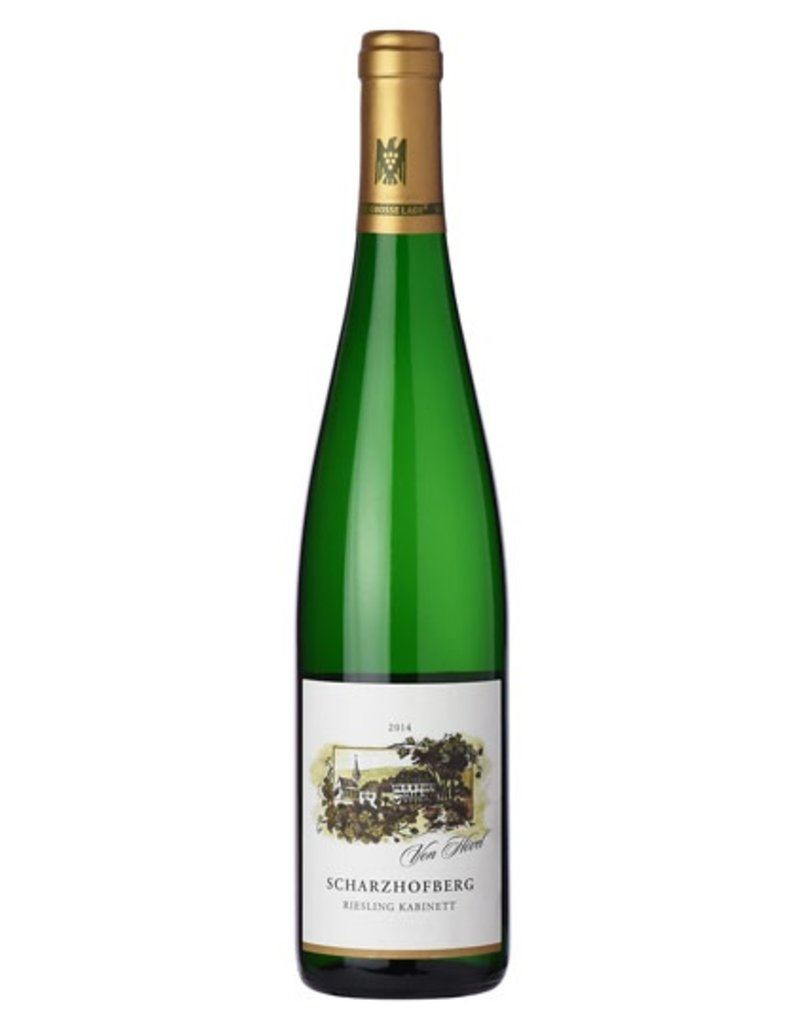 Von Hovel Scharzhofberg Riesling Spatlese Mosel 2014 750ml