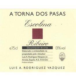 "Spanish Wine Luis A. Rodriguez Vasquez ""A Torno Dos Pasas Escolma"" Ribeiro 2010 1.5L"