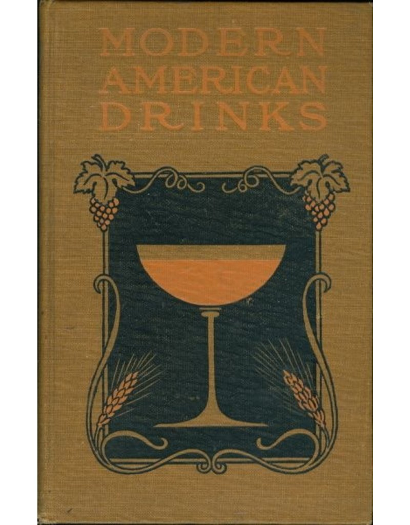 Books Modern American Drinks Book
