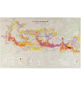 Merchandise Art & Cartographie Atlas des Grands Vignobles de Bourgogne Deux Cartes
