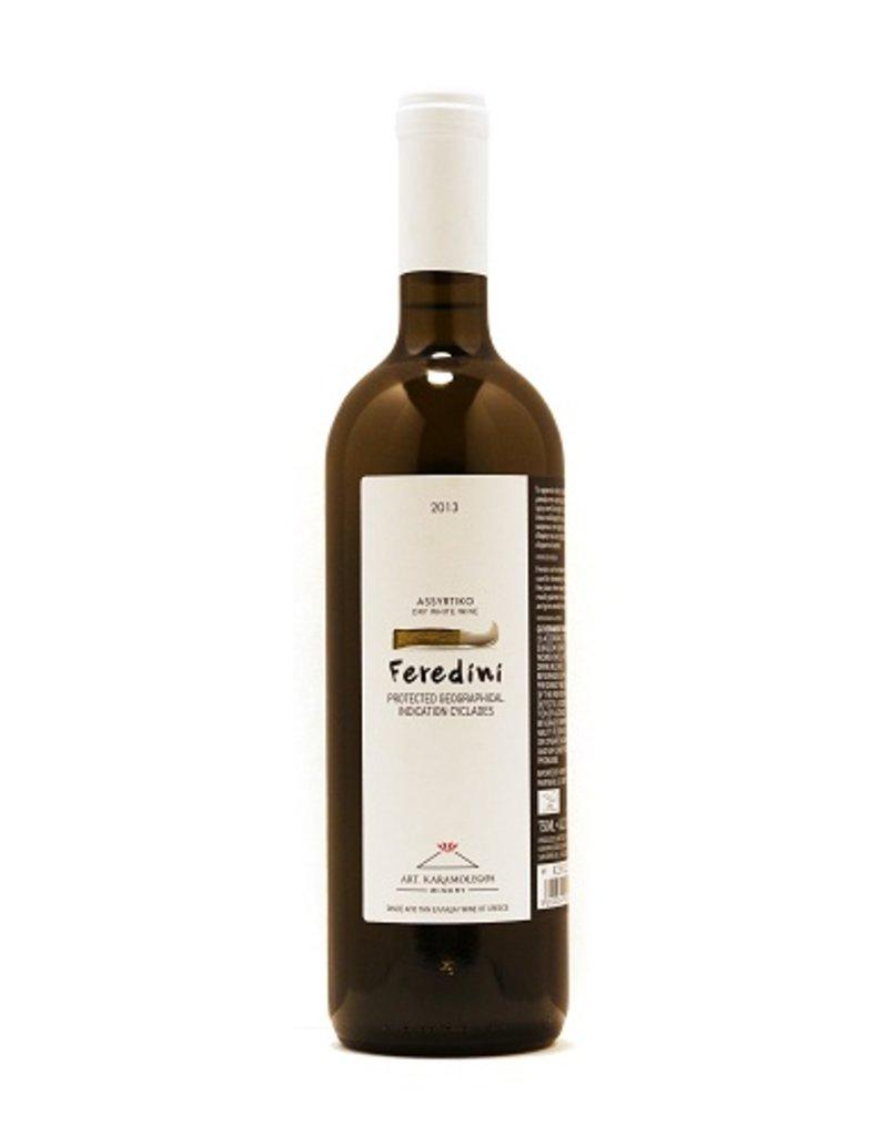 """Artemis Karamolegos """"Feredini"""" Assyrtiko 2015 750ml"""