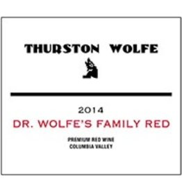 "American Wine Thurston Wolfe ""D.R. Wolfe's Family Red"" Columbia Valley WA 2016 750ml"