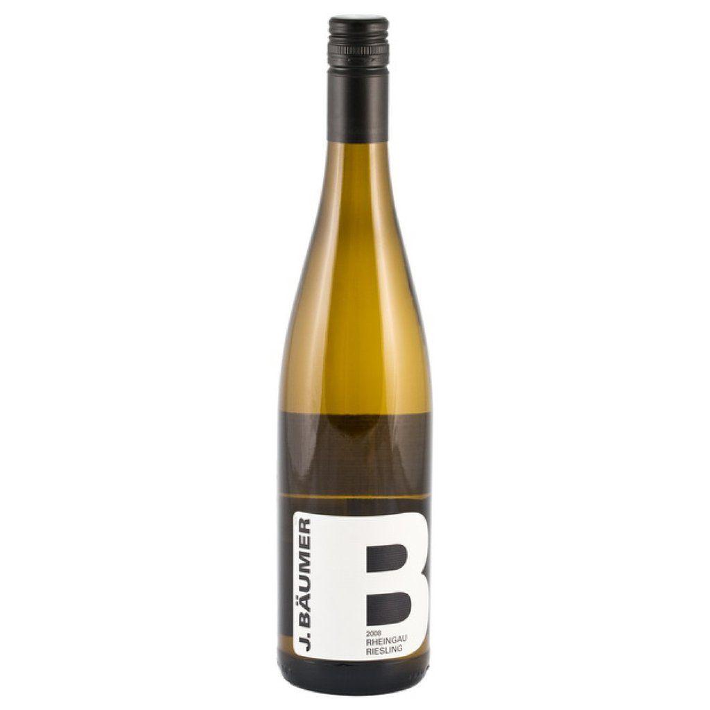German Wine J. Baumer Rhein Riesling 2018 750ml