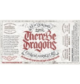 "Beer Chasing Harvest ""There Be Dragons"" Royal Blood New Zealand Ale 1 Pint 9oz"