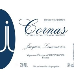 French Wine Jacques Lemenicier Cornas 2015 750ml