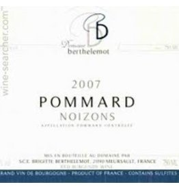 "French Wine Domaine Berthelemot Pommard ""Noizons"" 2014 1.5L"