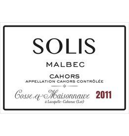 """French Wine Cosse et Maisonneuve """"Solis"""" Cahors 2015 750ml"""
