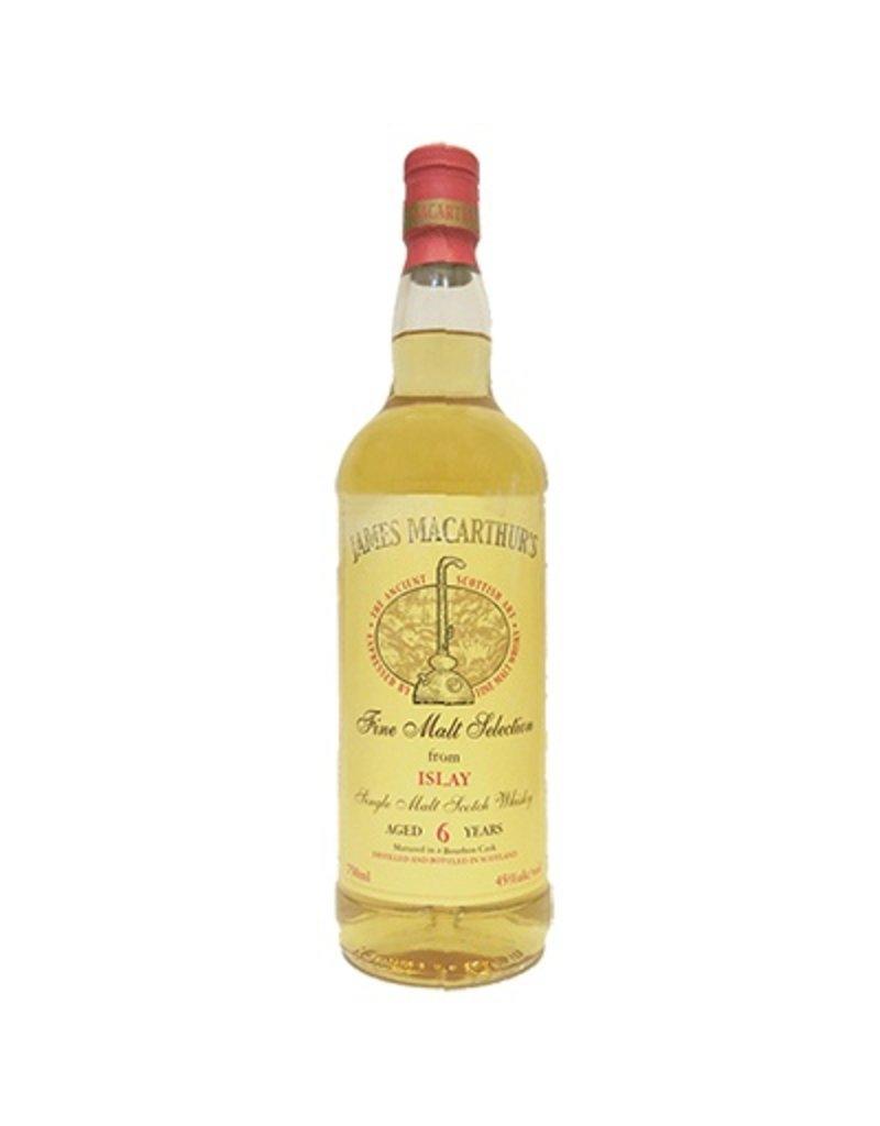 James MacArthur's Islay 6 Year Single Malt Scotch Whisky 750ml