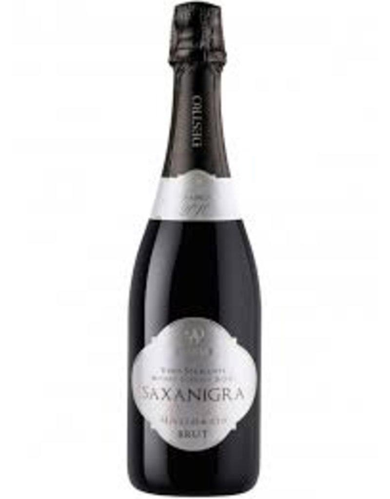 Saxanigra Vino Supmante Brut Millesimato Brut 100% Nerello Mascalese  2011 750ml