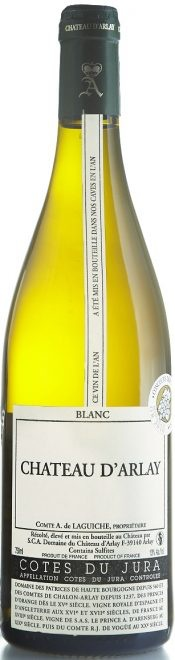 "French Wine Chateau d'Arlay Cotes du Jura Blanc ""Tradition"" 2011 750ml"