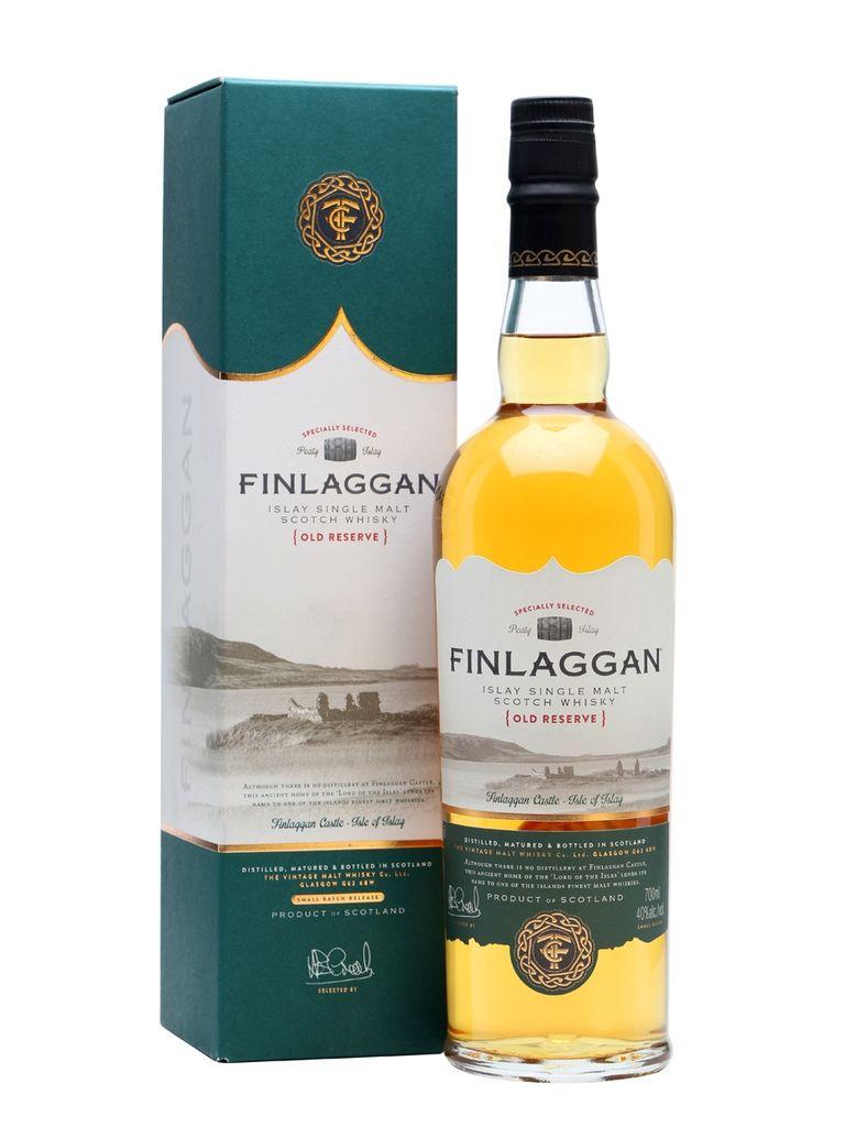 "Scotch Finlaggan ""Old Reserve"" Islay Single Malt Scotch Whisky 750lm"