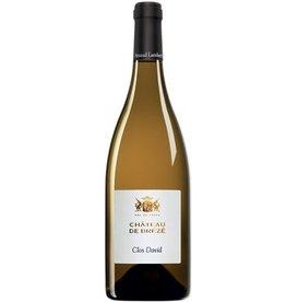 """French Wine Chateau de Brézé """"Clos David"""" Saumur Blanc 2015 750ml"""