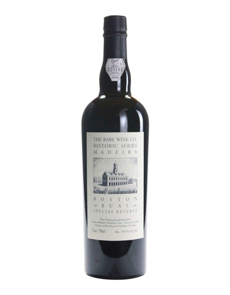 The Rare Wine Company Historic Series Madeira Boston Bual Special Reserve 750ml