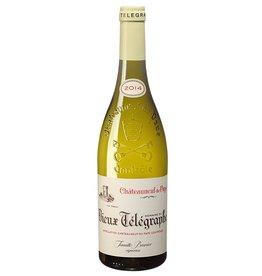 French Wine Domaine du Vieux Telegraph Chateauneauf-du-Pape Blanc 2016 750ml