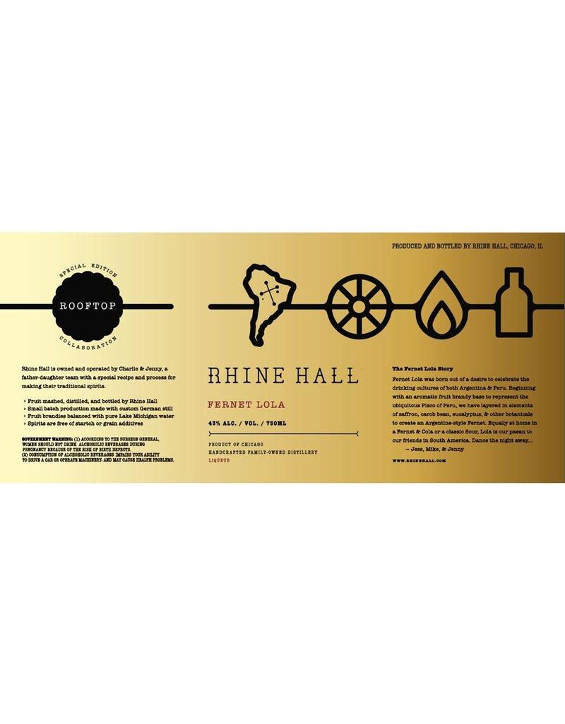 Liqueur Rhine Hall Fernet Lola 750ml