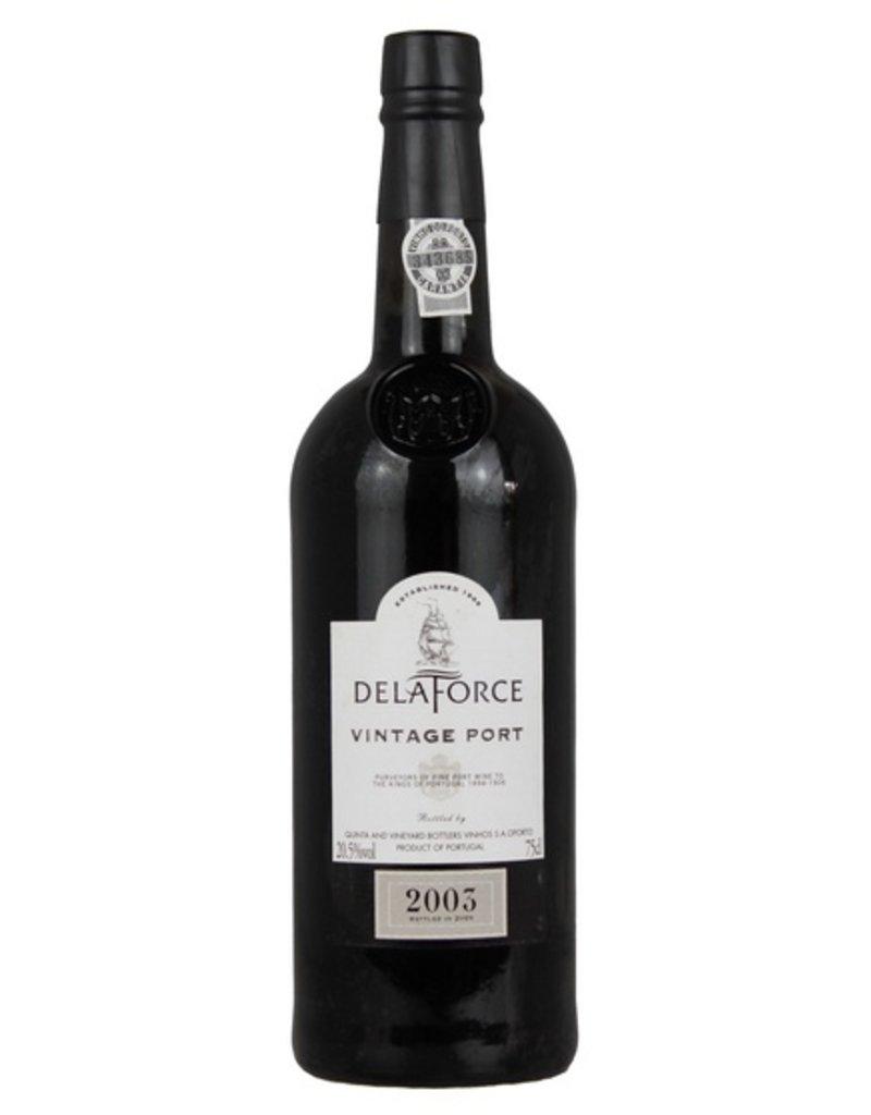 Delaforce 2003 Vintage Port 750ml
