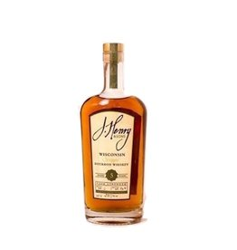 """J. Henry & Sons Cask Strength """"Patton Road Reserve"""" 5 year Straight Bourbon Whiskey 750ml"""