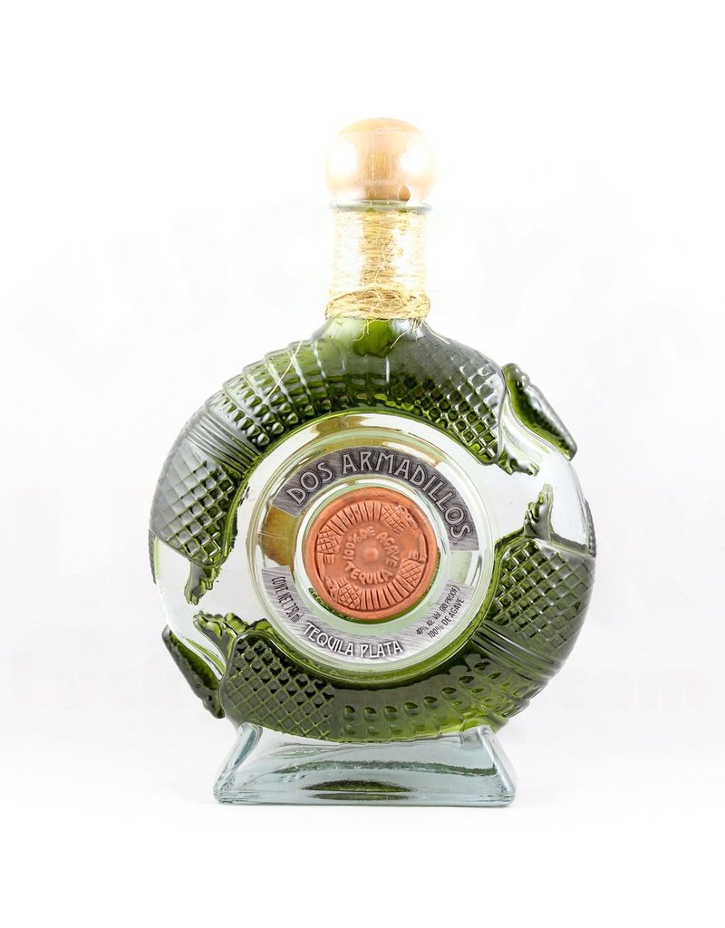 Dos Armadillos Tequila Plata 750ml