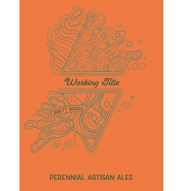 "Beer Perennial ""Working Title"" Belgian-Style Ale with Brettanomyces 750ml"