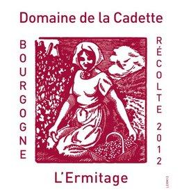 "French Wine Domaine de la Cadette ""L'Ermitage"" Bourgogne Rouge 2015 750ml"