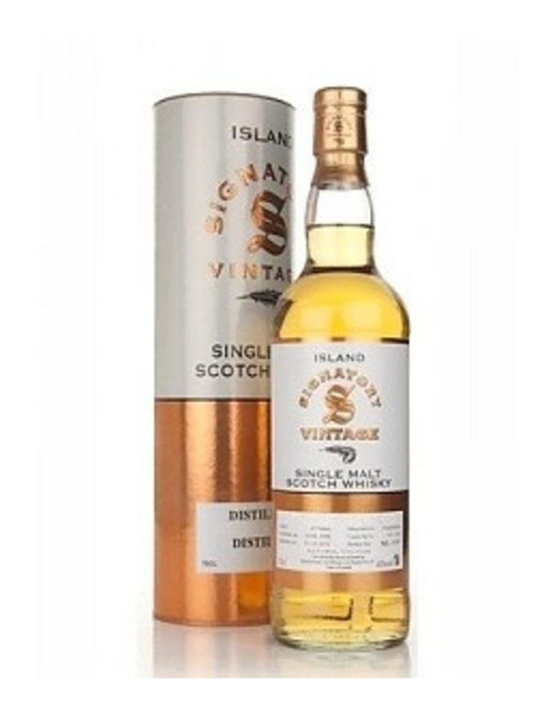 Signatory Vintage Strathisla 2007 9 year Single Malt Scotch Whisky Cask No. 800038 58.5% 750ml