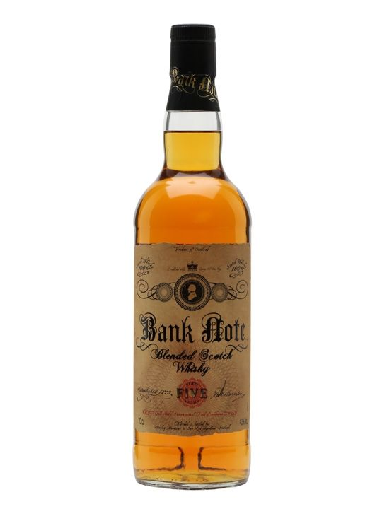 Scotch Bank Note Blended Scotch Whisky 1.75L