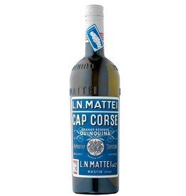 """Liqueur L.N. Mattei """"Cap Corse"""" Quinquina Vin Aperitif Blanc 750ml"""