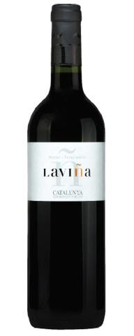 Spanish Wine Laviña Tempranillo Merlot Catalunya 2015 750ml