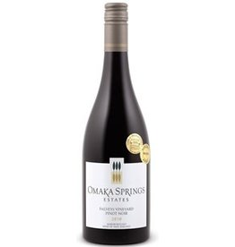 "Omaka Springs Pinot Noir Estates ""Falveys Vineyard"" Pinot Noir Marlborough New Zealand 2012 750ml"