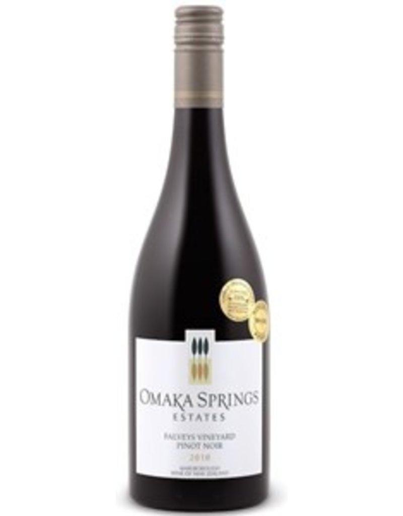 "Omaka Springs Pinot Noir Estates ""Falveys Vineyard"" Pinot Noir Marlborough New Zealand 2012 750ml"