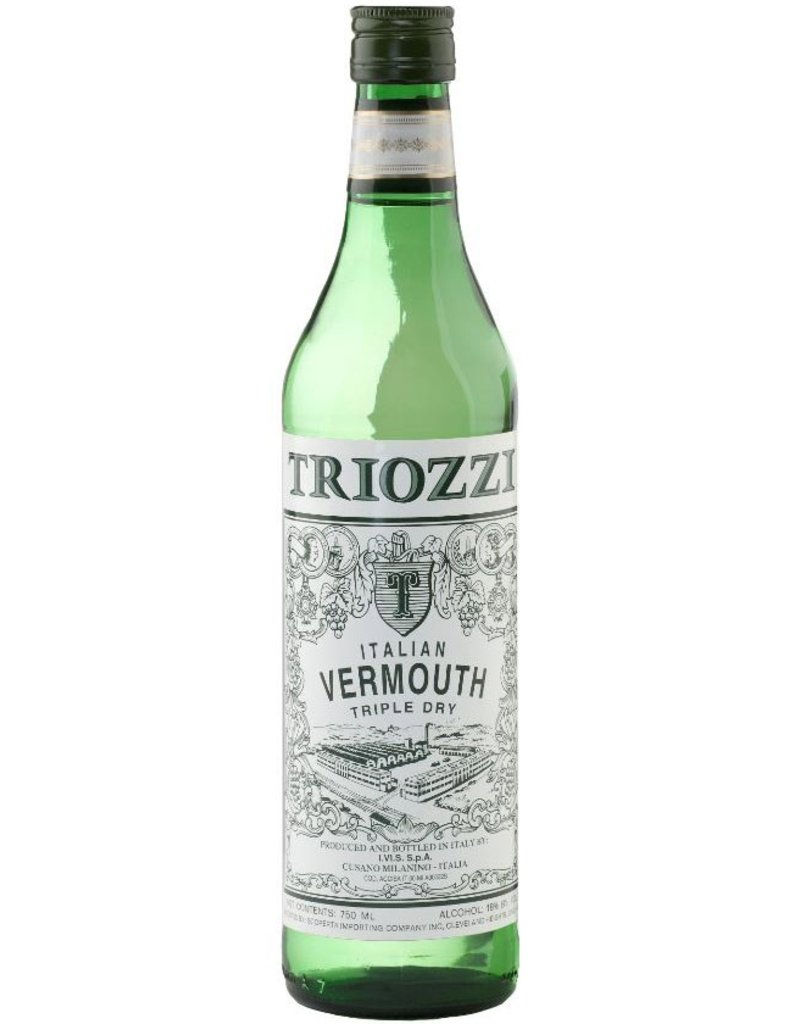 Vermouth Triozzi Italian Vermouth Extra Dry 1L