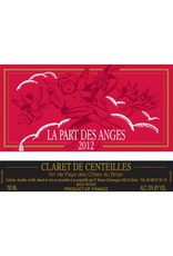 "French Wine Clos de Centeilles ""La Part Des Anges"" Claret de Centeilles Cotes du Brian 2015 750ml"