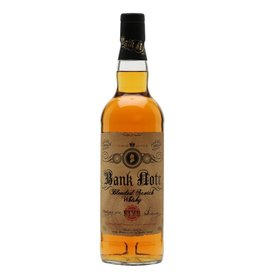 Irish Whiskey Bank Note Blended Irish Whiskey 5 Year Old 750ml