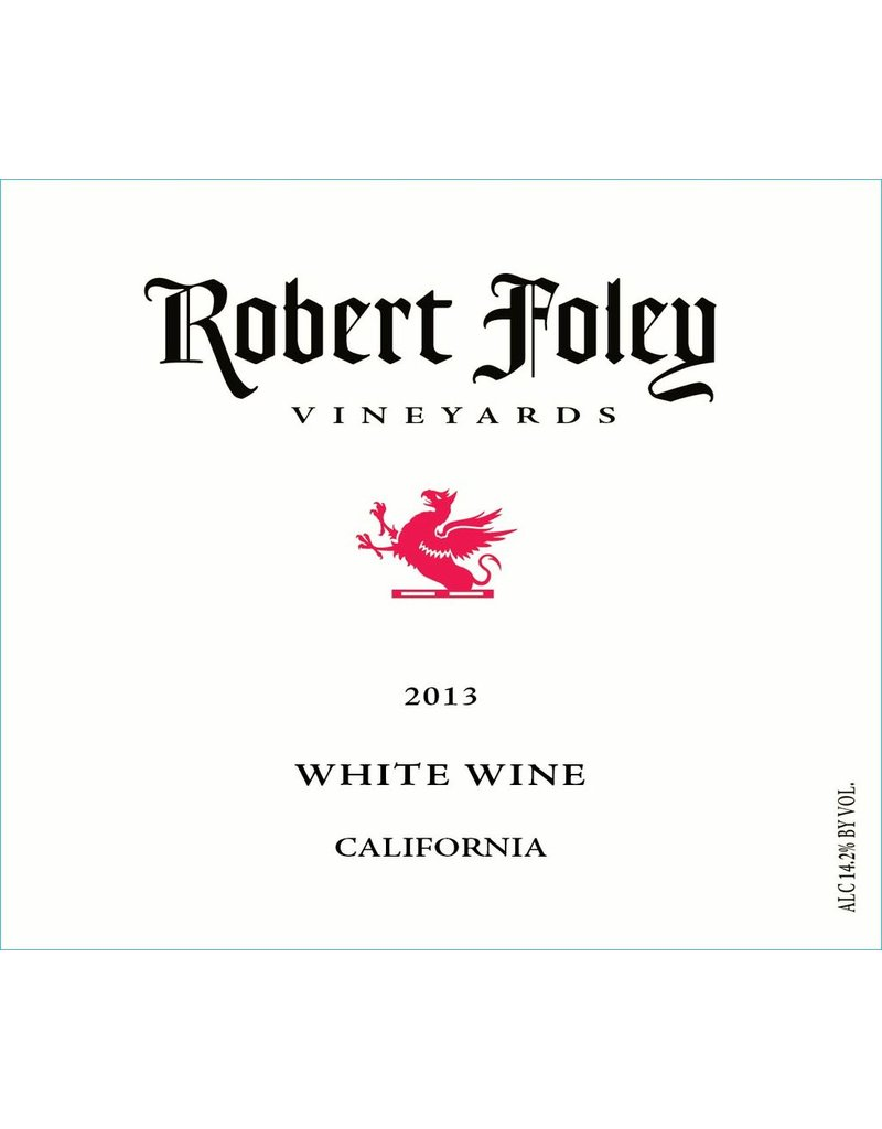 Robert Foley Vineyards White Wine California 2014 750ml