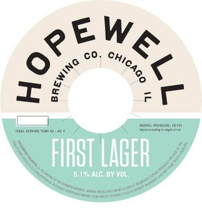 Beer Hopewell First Lager 6pk Cans