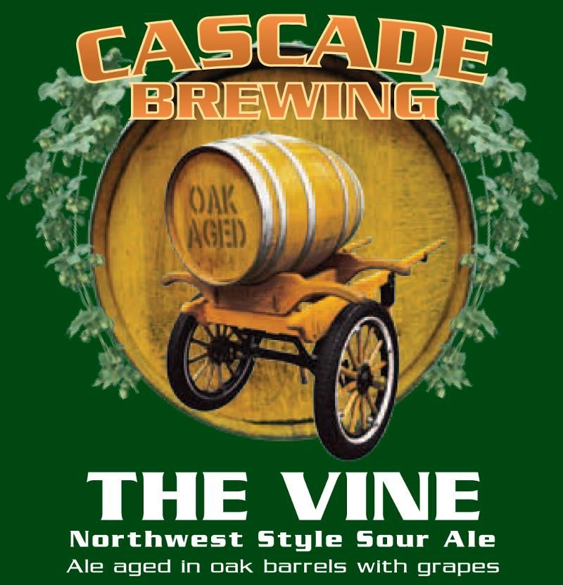 """Beer Cascade """"The Vine"""" Northwest Sour Ale 2015 Project 750ml"""