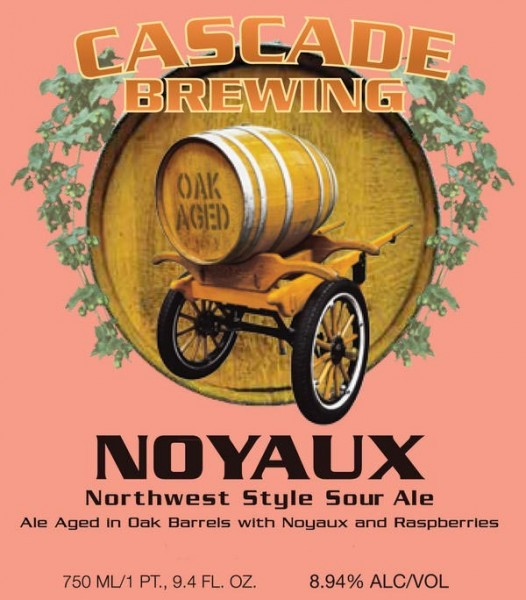 "Beer Cascade ""Noyaux"" Northwest Style Sour Ale 2014 Project 750ml"