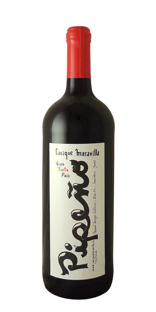 South American Wine Cacique Maravilla Pipeño Vino Tinto Pais Chile 2017 1L