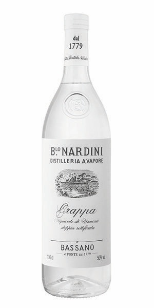Brandy Nardini Distilleria a Vapore Grappa 1L