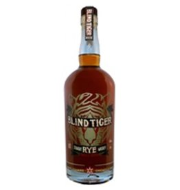 "Rye Whiskey Chicago Distilling Company ""Blind Tiger"" Straight Rye Whiskey 90 proof 750ml"