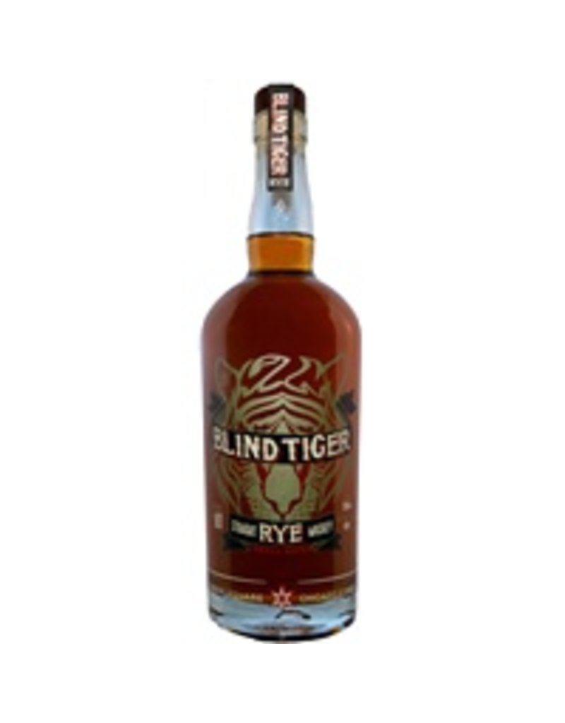 """Chicago Distilling Company """"Blind Tiger"""" Straight Rye Whiskey 90 proof 750ml"""