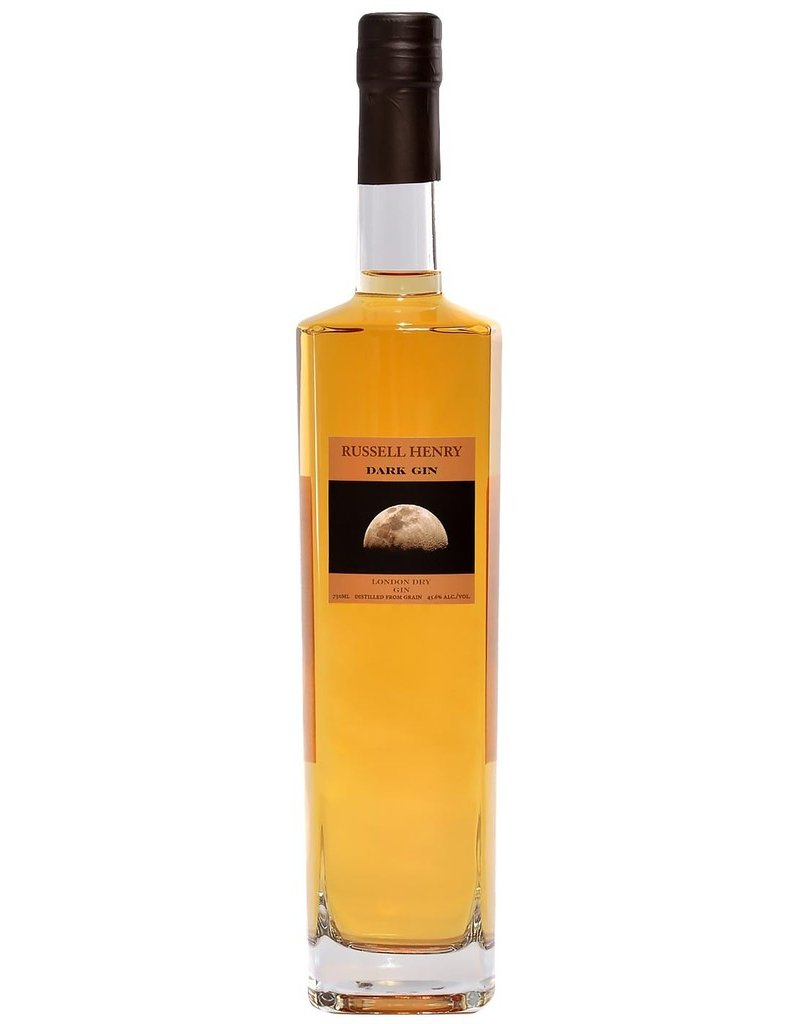 "Russell Henry ""Dark Gin"" London Dry gin 750ml"