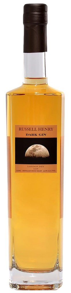 "Gin Russel Henry ""Dark Gin"" London Dry gin 750ml"