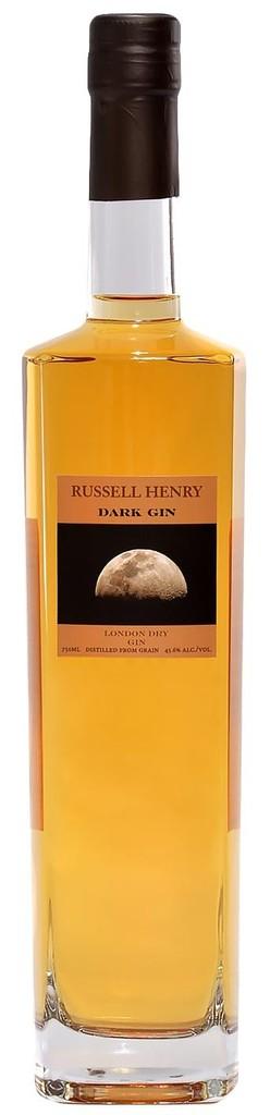 "Gin Russell Henry ""Dark Gin"" London Dry gin 750ml"