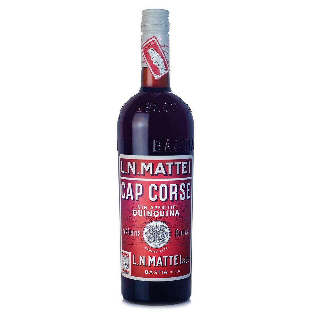 """Liqueur L.N. Mattei """"Cap Corse"""" Vin Aperitif Quinquina Rouge 750ml"""