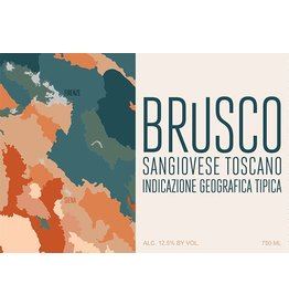 Brusco Sangiovese Toscana 2018 750ml