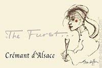 """Sparkling Wine """"The Furst"""" Cremant d'Alsace Brut NV 750ml"""