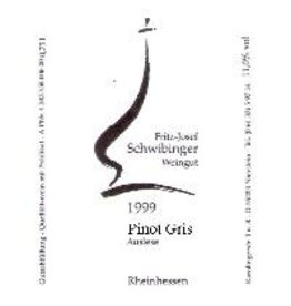 Dessert Wine Fritz-Josef Schwibinger Pinot Gris Auslese 1999 500ml